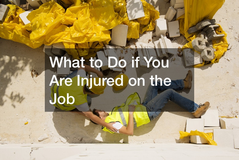 What to do if I get injured at work