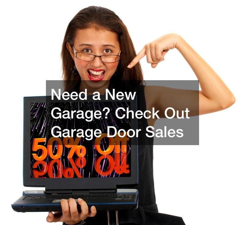garage door sales